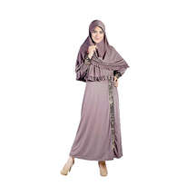Gamis Nibras Mocca Size M