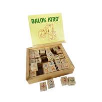 Mainan Edukasi Anak Islami - Balok Iqro