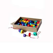 Puzzle Balok Kayu - Ronche Geo 150