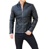 Jaket Black Premium Leather Size XL
