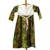 DRESS LENGAN PANJANG BATIK SIZE M