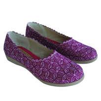 Sepatu Bordir Klawung Pink