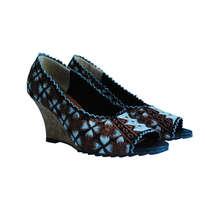 Sepatu Bordir Wedges