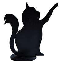 Kerajinan Kayu Bentuk Kucing