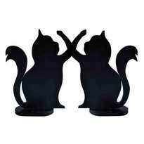 Kerajinan Kayu Bentuk Kucing Sepasang