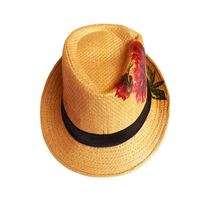 Hat Fedora Decoupage