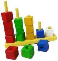Mainan Edukatif Kayu - Balok Bertingkat