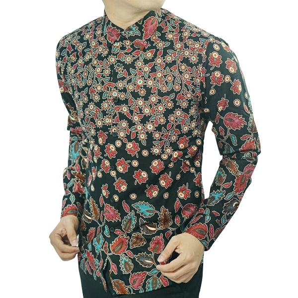 Jual Baju Batik Pria Slim Fit D123 Toko Lina Batik