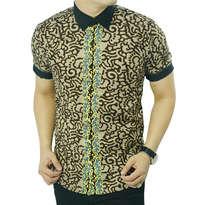 Baju Batik Pria Slim Fit OB190