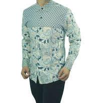 Kemeja Batik Slim Fit D145 Size XL