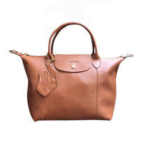 Cow Leather Bag Brown
