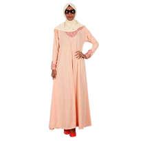 Busana Muslim ZI2613 Muslimah Mina Peach Orange
