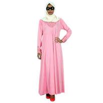 Busana Muslim Muslimah Mina Pink