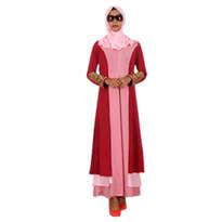 Busana Muslim Embroidery Merah