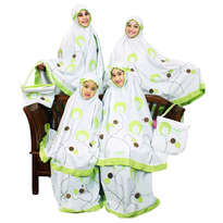 Mukena Fathiya Green Valley Paket Ibu (XL) & Size LL (Anak Umur 8-10th)