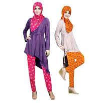Neikcha flowery muslim set