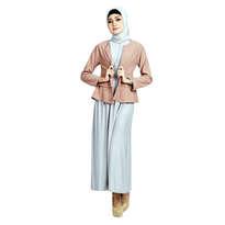 Dibranza Plain Flare Muslim Set