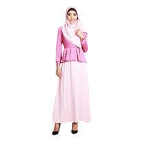 Syafamila Plain Flare Muslim set