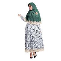 Senetika Polka Flare Muslim set