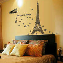 WALLSTICKER BUILDING LOVE IN PARIS