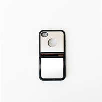 Holarocka Silver Flip Metal Iphone 4 / 4s Case