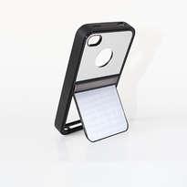 Holarocka Silver Flip Metal Iphone 4 / 4s Case