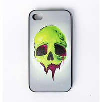 Casing Holarocka Color Skull 01 Pvc Iphone 4 / 4s