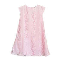 Lady Pink Lace Dress