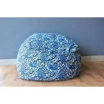 Ichiro Japanese Beanbag - Blue Batik