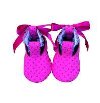 Sepatu Bayi Pink Polkadot