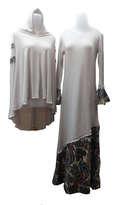 Baju Muslim Set Syari Bagian Tangan Model Lonceng