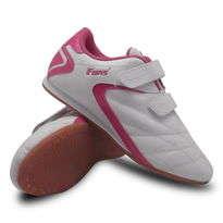 Sepatu Olahraga Taekwondo Putih Pink Fans Brio P