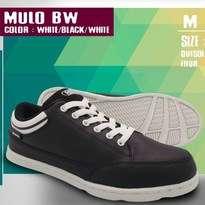 Sepatu Kasual Pria Hitam Putih Fans Mulo BW