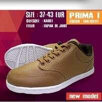 Sepatu Kasual Pria Coklat Fans Prima T