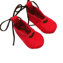 Sepatu Bayi Pink Ballet Suede