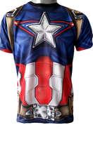 Baju Captain America Full Body Size M