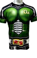 Baju Kamen Rider Black RX Full Body Size XL