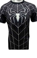 Baju Spiderman Black Full Body XL
