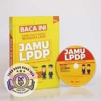 Buku + DVD Jamu LPDP (Jurus Ampuh Lolos Seleksi Beasiswa LPDP)