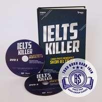 Buku + DVD Ielts Killer BONUS Ebook Jamu LPDP + JKLN Series