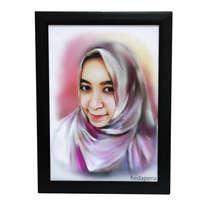 Lukis Wajah Digital Painting 30cm
