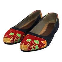 Sepatu Batik Sikaki (Merah)