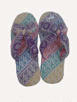 Sandal Jepit Silang Batik Cantik 2 No 39