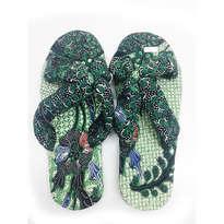 Sandal Jepit Silang Batik 9 no 39