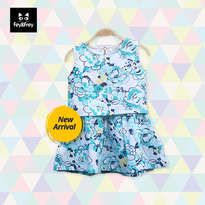 Larose Mint Dress