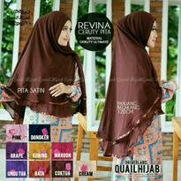 Revina Ceruti Khimar by Quail Hijab