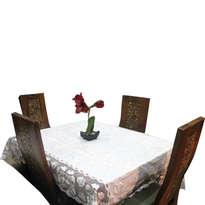 Taplak Meja Besar 4 Kursi Bordir Handmade