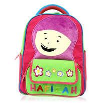 Tas Ransel Sekolah Anak Hafizah Pink