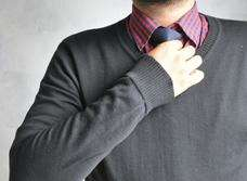 Sweater Rajutan Handmade Coklat XL