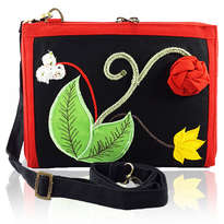 Tas Etnik Organizer note 10 inchi Erfa Handmade Rossa Belle